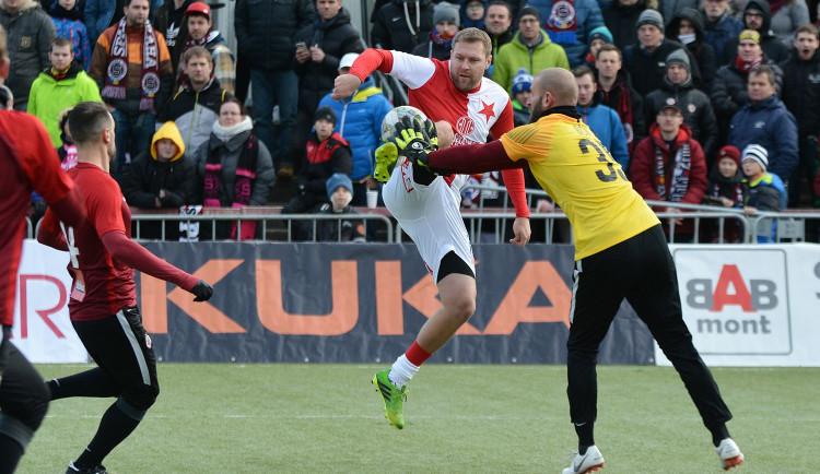 Silvestrovské derby nemá vítěze. Slavia remizovala se Spartou 3:3