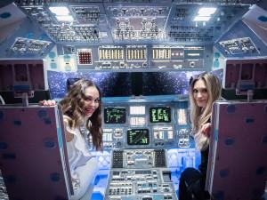 FOTO, VIDEO: VPraze je kvidění největší putovní výstava kosmonautiky. Představuje unikátní exponáty