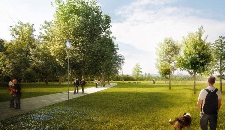 Další etapa rekonstrukce Letenských sadů by měla být hotová už letos na jaře