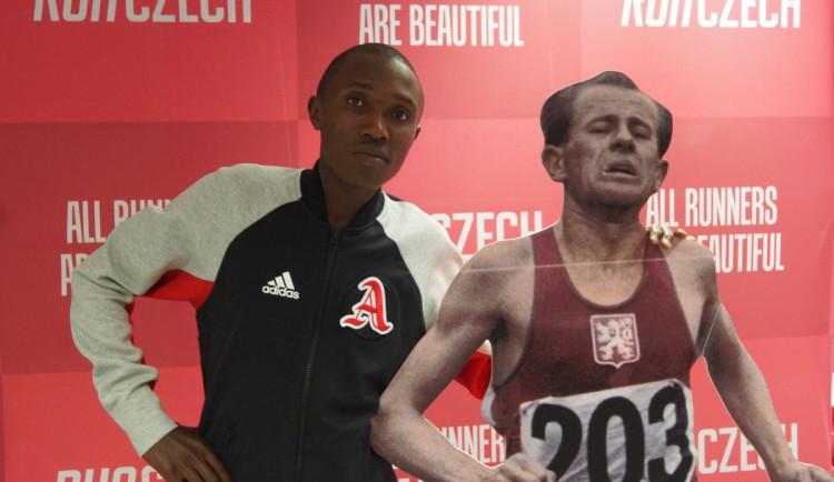 Praha je můj druhý domov, říká čerstvý držitel světového běžeckého rekordu Rhonex Kipruto