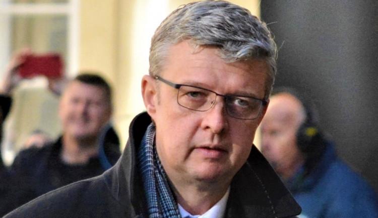 Ministr průmyslu a obchodu Karel Havlíček se dnes ujal funkce ministra dopravy