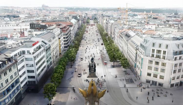 VIZUALIZACE: V dubnu začne rekonstrukce Václavského náměstí. Podívejte se, jak bude vypadat