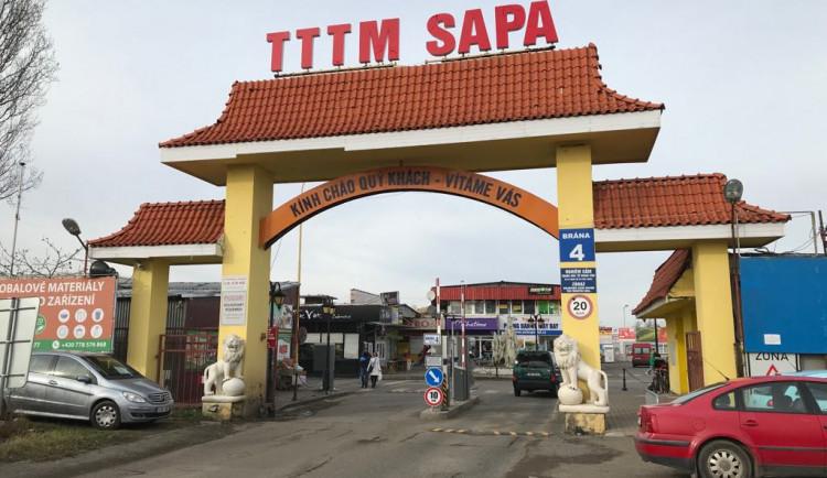 FOTO: Obchodní centrum Sapa. Jak se z masokombinátu stalo město ve městě