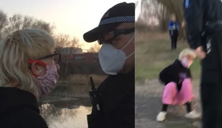 VIDEO: Facka od měšťáka. Video, ve kterém pražský strážník napadl ženu, se šíří internetem