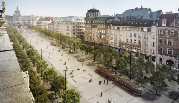 Spolek podal námitku na rekonstrukci Václaváku kvůli kácení stromů. Stavbu to zdraží