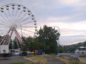 Ruské kolo na Praze 4 je v provozu, zájemců o jízdu bylo málo