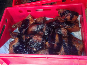 Inspekce odhalila na trhu v Praze desítky kilogramů masa neznámého původu