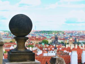 Nejkrásnější výhledy na Prahu. Hrad zve veřejnost do otevřených jižních zahrad