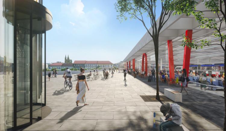 Terminál na smíchovském nádraží vyprojektuje Sudop, nejlevnější nabídku město vyloučilo