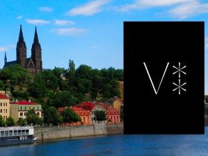 Vyšehrad má nové logo. Tvoří ho dvě hvězdy a iniciála krále Vratislava