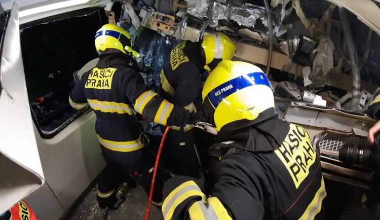 FOTO, VIDEO: Tragický střet vlaků u Českého Brodu pohledem zasahujících hasičů