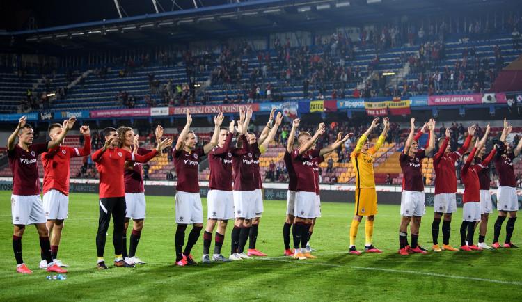 Sparta zdolala Olomouc 3:0, Bohemka remizovala v Brně bez branek