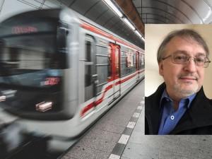 Na blbosti Praha peníze má, říká předseda odborů dopravního podniku Luboš Olejár