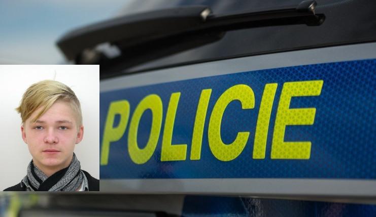 Policie žádá o pomoc při pátrání po sedmnáctiletém chlapci ze Slovenska