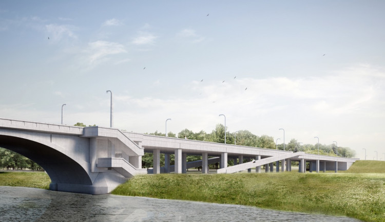VIZUALIZACE: Opravy Libeňského mostu budou stát přes dvě miliardy. Začnou nejspíš za dva roky