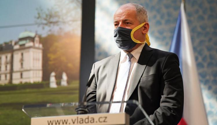 Ministr Prymula zřejmě na dalším jednání vlády navrhne nouzový stav