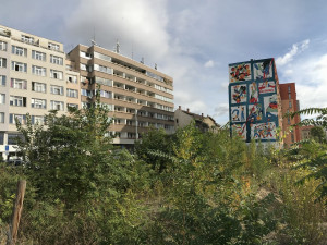 FOTO, VIDEO: V Holešovicích vznikla nástěnná malba. Symbolizuje přátelství Česka a Polska