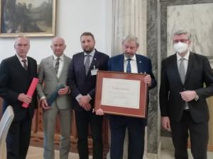 Je to pro nás svátek, říká majitel stavby, která získala Cenu ministra průmyslu a obchodu Patria Nostra