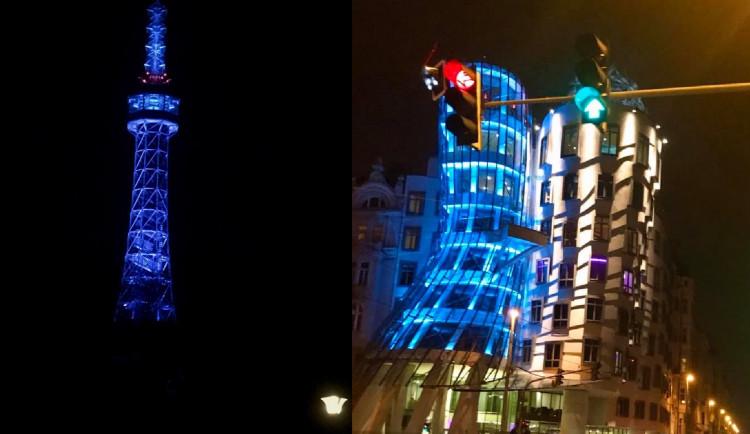 Modré světlo zítra večer rozsvítí Petřín nebo Tančící dům. Připomene 75. výročí vzniku OSN
