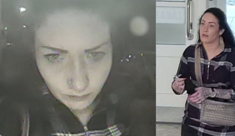 Žena ukradla kabelku v budově vysoké školy na Žižkově. Pátrá po ní policie