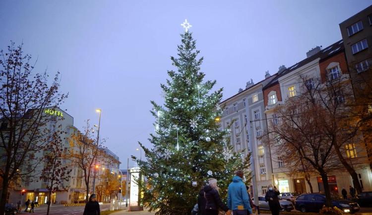 VÁNOCE NA SEDMIČCE: Strom na Strossmayerově a Ortenově náměstí i kluziště na Letné