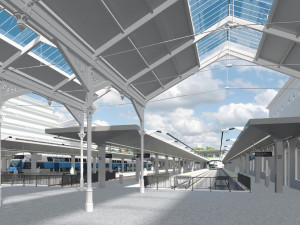 Železniční trať na pražské letiště povede pod povrchem. Radní schválili rychlejší variantu