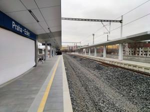 VIDEO: Z Vršovic do Hostivaře se ode dneška cestující svezou přes novou vlakovou zastávku Praha-Eden