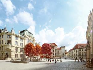 VIZUALIZACE: Mariánské náměstí projde proměnou. Radní schválili jeho novou podobu