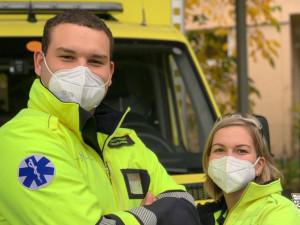Pražská záchranná služba nyní nemá kvůli epidemii více výjezdů. Za den vyjíždí asi k 350 případům