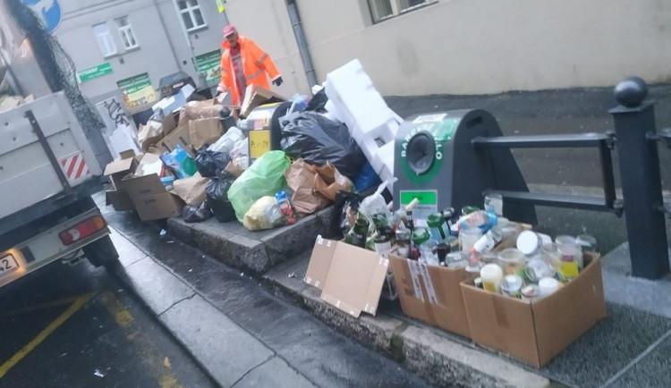 FOTO: V některých lokalitách Prahy 3 se bude odpad vyvážet nově třikrát denně