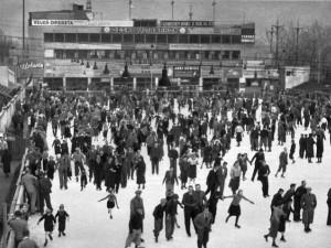 Stadion na ostrově Štvanice hostil historicky první zápas na umělém ledě už před 90 lety