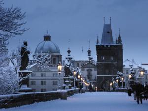 Po ledovce přijde sníh. V Praze může nasněžit až 25 centimetrů, varují meteorologové