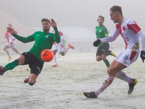 Slavia po dvou vlastňácích jen remizovala v Příbrami. Sparta s Vrbou vyhrála v Olomouci