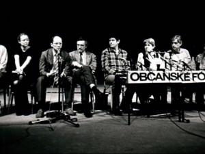 Občanské fórum se rozpadlo před 30 lety. Dodnes z jeho stran přežila pouze ODS