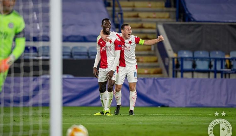 Slavia postupuje do dalšího kola Evropské ligy! Sešívaní porazili Leicester na jeho hřišti 2:0