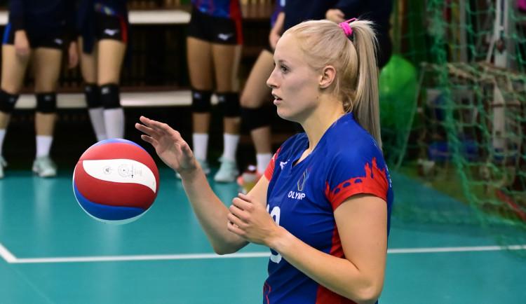 Pražský Olymp chce vybojovat titul. Purchartová se těší na vyřazovací boje
