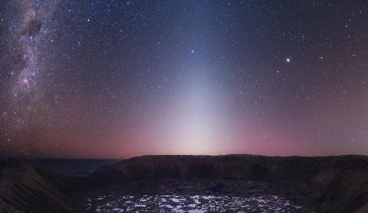 Vzhlédněte k obloze, nastává období zvířetníkového světla
