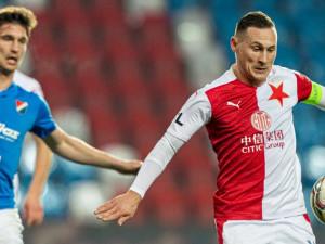 Slavia porazila Baník Ostrava 2:1. Bořil měl po druhé půli v šatně proslov, výkon sešívaných ho naštval