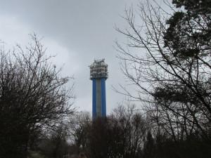 V Praze 5 byla opravena vodárenská věž Děvín. Rekonstrukce stála 100 milionů korun