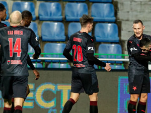 Slavia porazila Mladou Boleslav 3:0. Dva góly dal rozjetý Stanciu