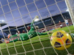 Sparta v osmifinále poháru vyřadila Baník. Pražané skórovali v 89. minutě z penalty
