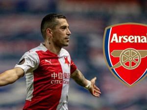 Slavia Praha ve čtvrtfinále Evropské ligy vyzve londýnský Arsenal