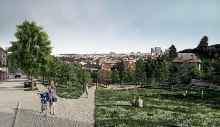 Rýsuje se konečná podoba parku Na Pláni na Malvazinkách. Podívejte se, jak bude vypadat
