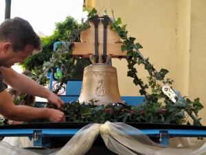 Zvony Jan Nepomuk a Ludmila budou vysvěceny a zavěšeny v kostele sv. Havla