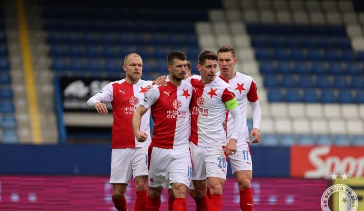 Slavia zvítězila v Liberci. Pražané mají titul prakticky jistý