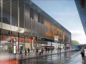 Podoba nového terminálu na Smíchově je schválená. Podívejte se na vizualizace