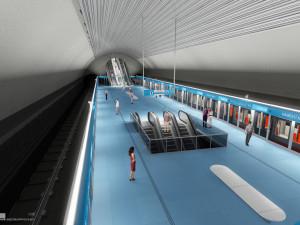 Trasa metra D je zanesena v územním plánu. Trať v první fázi spojí Pankrác a Písnici