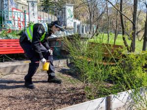 Pražští strážníci posbírali po celém městě přes 300 jehel a stříkaček