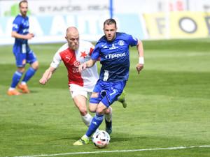Slavia porazila Olomouc 3:0 a v semifinále poháru narazí na Spartu