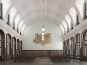 Začala rekonstrukce interiérů Fantovy budovy na hlavním nádraží. Bude stát přes 300 milionů